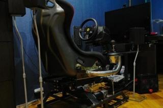 DOF Reality P2 motion simulator