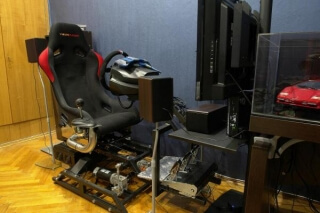 2DOF motion simulator DOF Reality P2