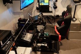 2DOF motion simulator DOFReality P2