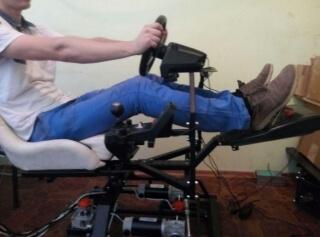 F1 3DOF motion simulator