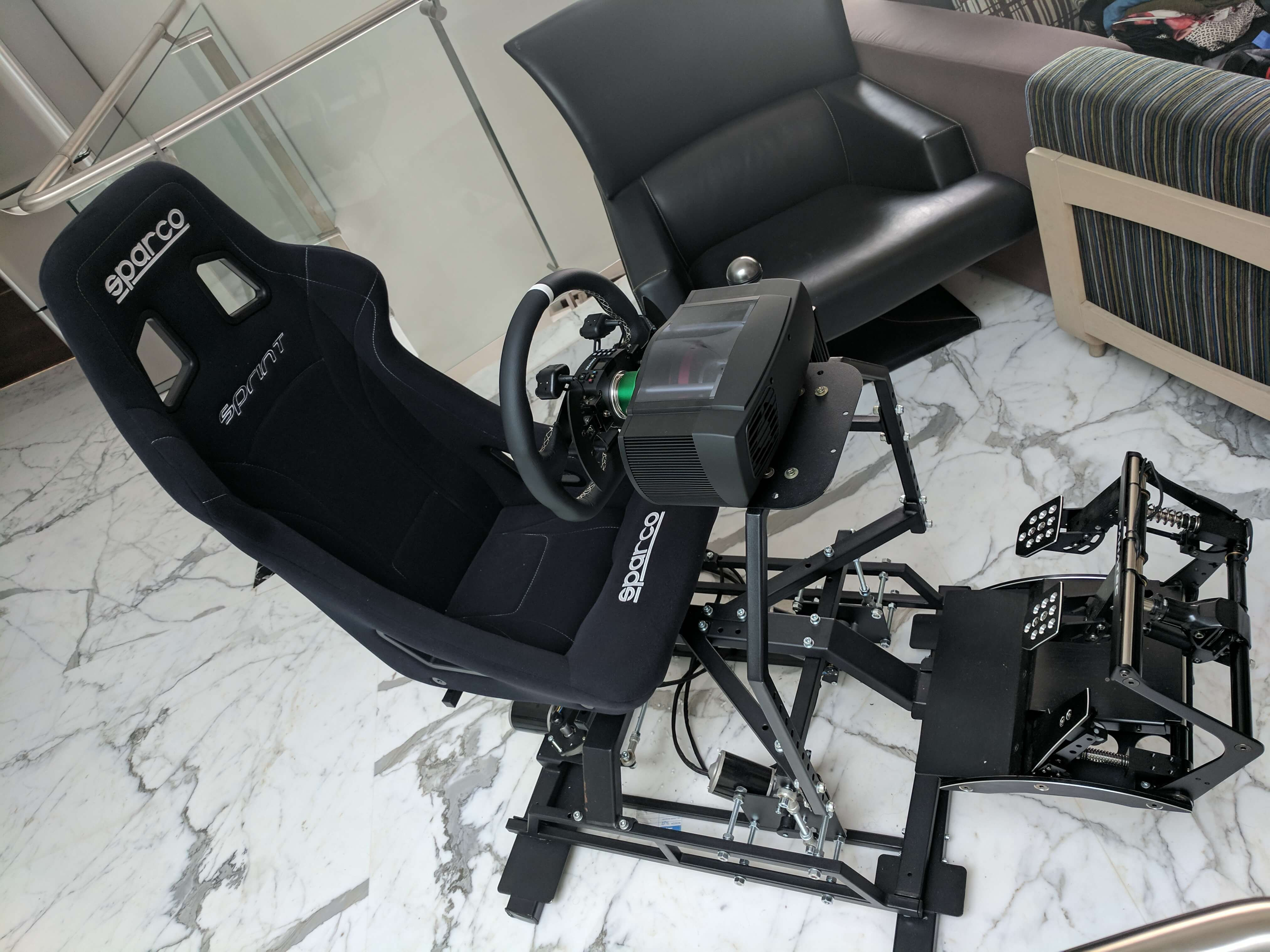 DOF Reality H3 with inverted pedals