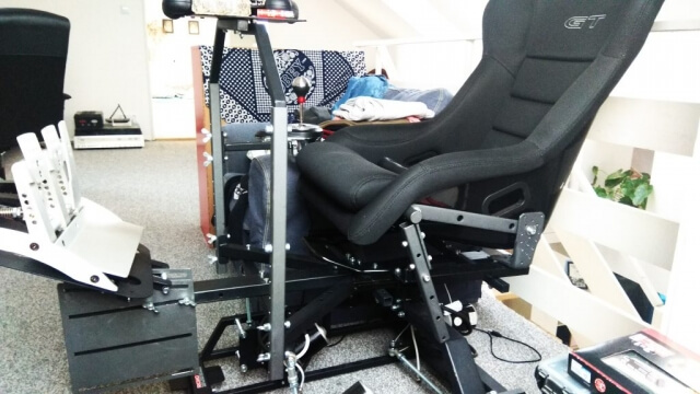 2DOF motion simulator