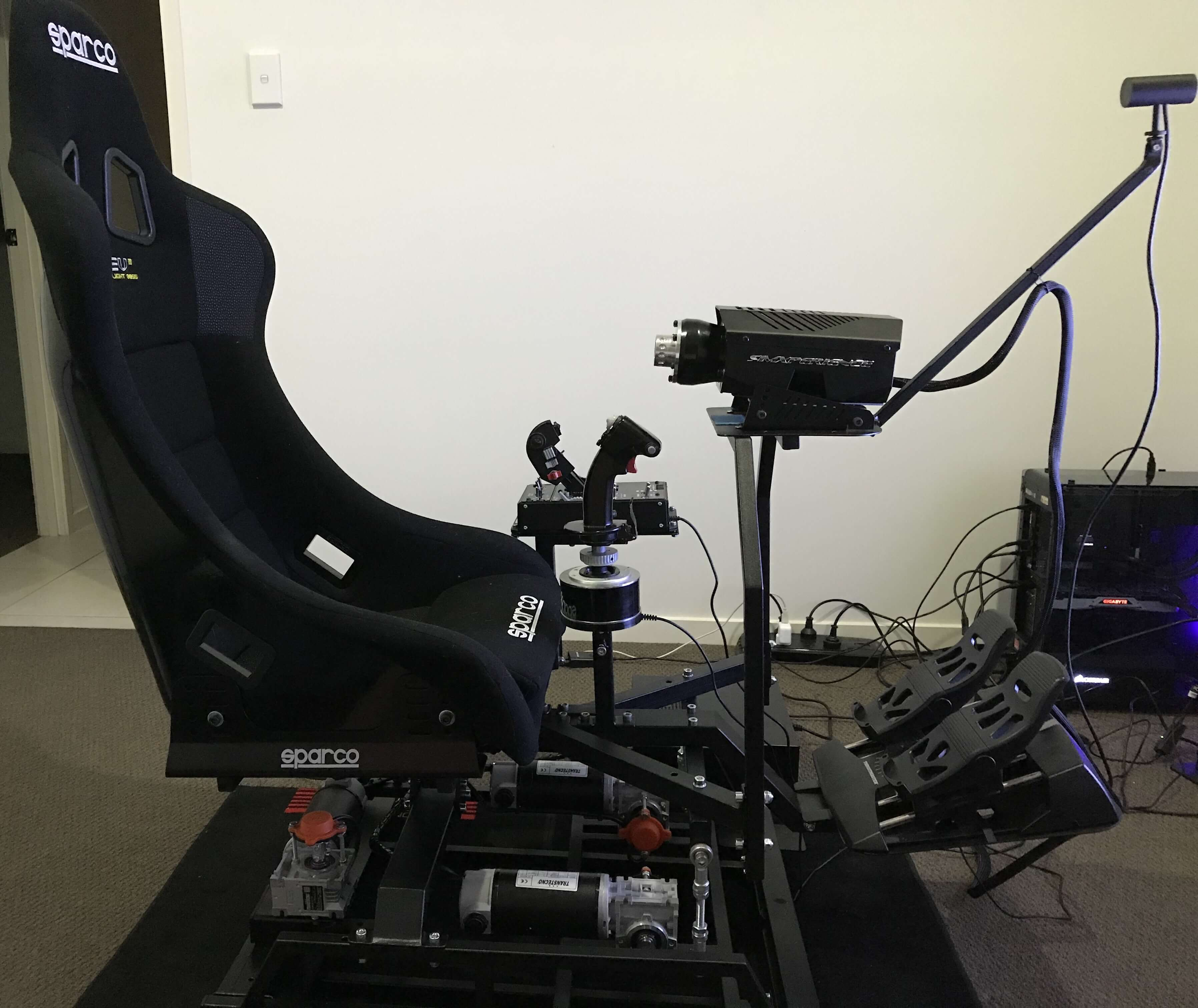 3dof sim with VR