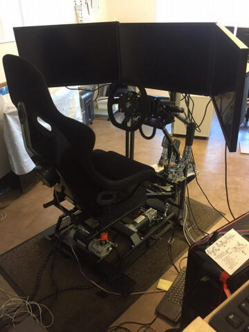 DOF Reality P3 with monitors