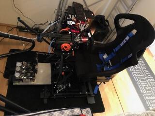 3DOF racing simulator H3