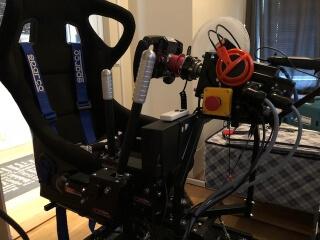 3DOF motion simulator